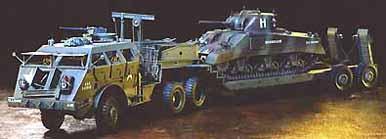 アメリカ40トン戦車運搬車 ドラゴンワゴン タミヤ 1/35 MM230
