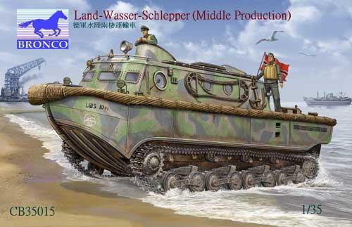 ブロンコモデルズ CB35015 1/35 独・水陸両用牽引車 ラントワッサシュレッパーLWS中期生産型