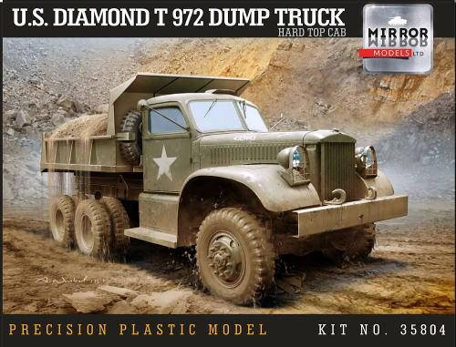 ミラーモデルズ MM35804 1/35 ダイアモンドT 972 ダンプトラック