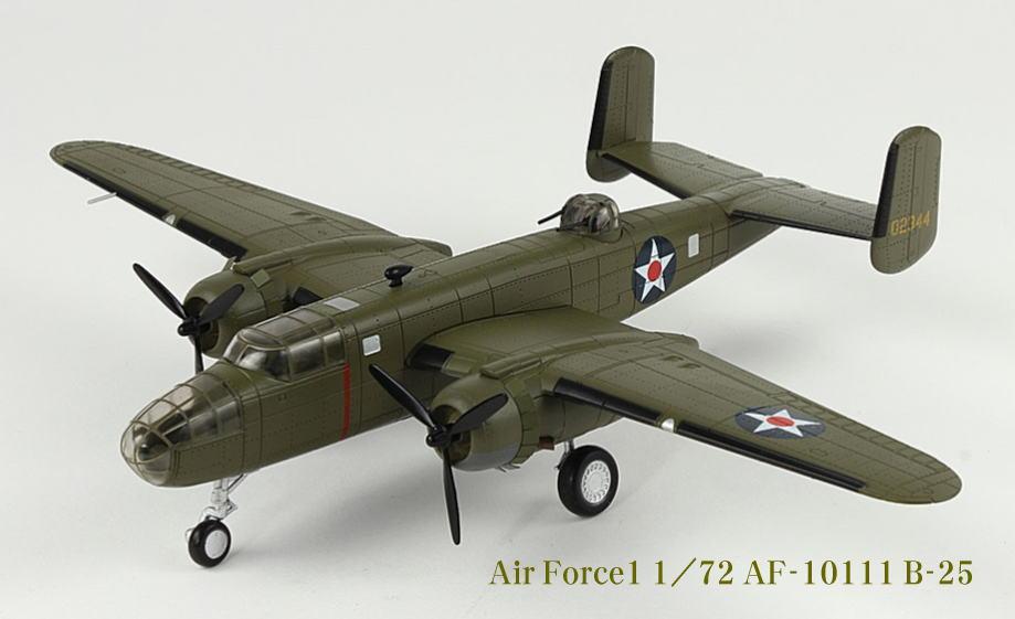 【即納】Air Force 1 エアーフォース1 1/72 AF10111 B-25 ミチェル ダイキャスト完成品