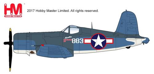 ホビーマスター HA8218 1/48 F4U-1A コルセア
