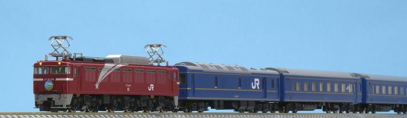 TOMIX トミックス 98642 JR EF81・24系特急寝台客車(エルム)セット(7両)