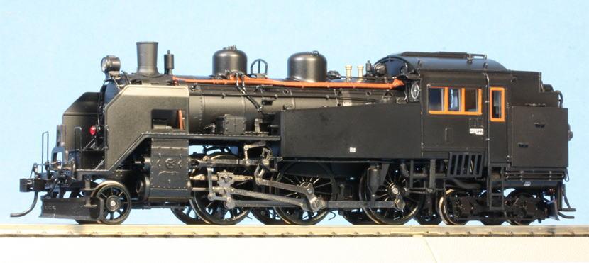 天賞堂 No.51043 HO(16.5mm) プラスチック製 C11形171号機JR北海道タイプ 蒸気機関車