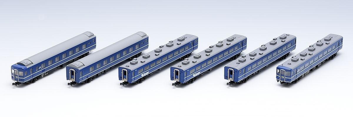 TOMIX トミックス 98644 JR 14-500系客車(まりも)セット(6両)