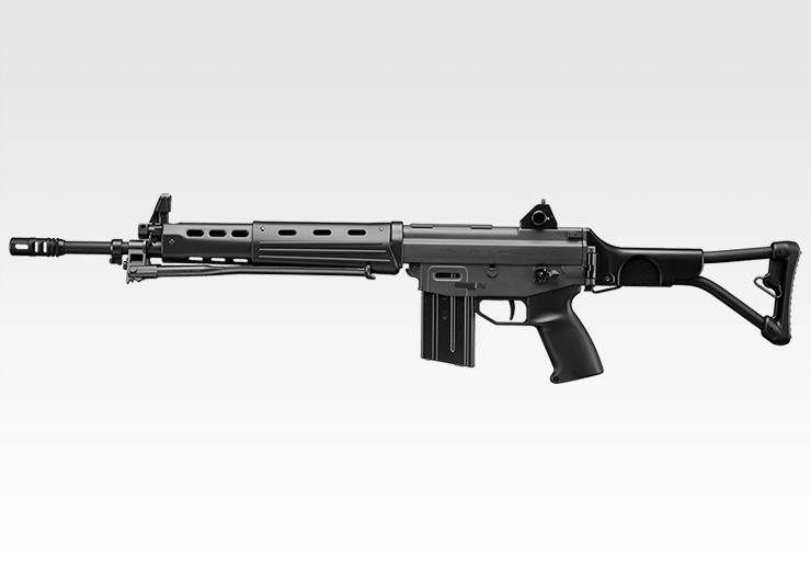 東京マルイ ガスブローバック マシンガン No.08 89式5.56mm小銃(折曲銃床型)(18歳未満の方は購入できません)