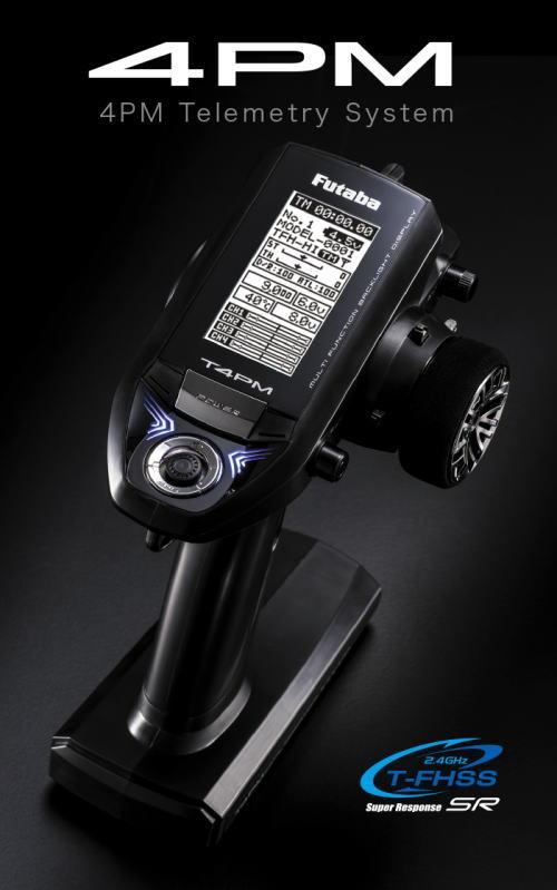 フタバ No.00107193-3 4PM-F24J1DX 2.4GHz 4chプロポ 送信機単品(ミニッツMR-03EVO対応)