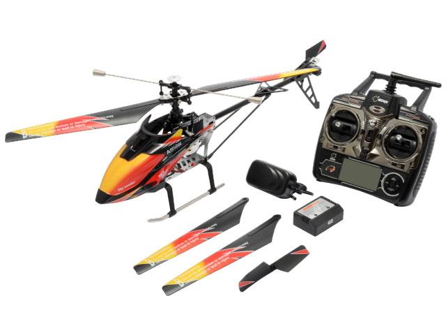 ハイテック WLtoys No.WLV913 2.4GHz 4ch ヘリコプター V913 RTF ブラック/オレンジ