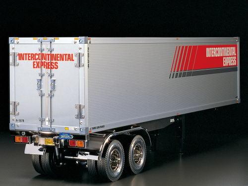 タミヤ RCTR 1/14 電動RCビッグトラック No.56302 RC トレーラートラック用 パネルバン セミトレーラー