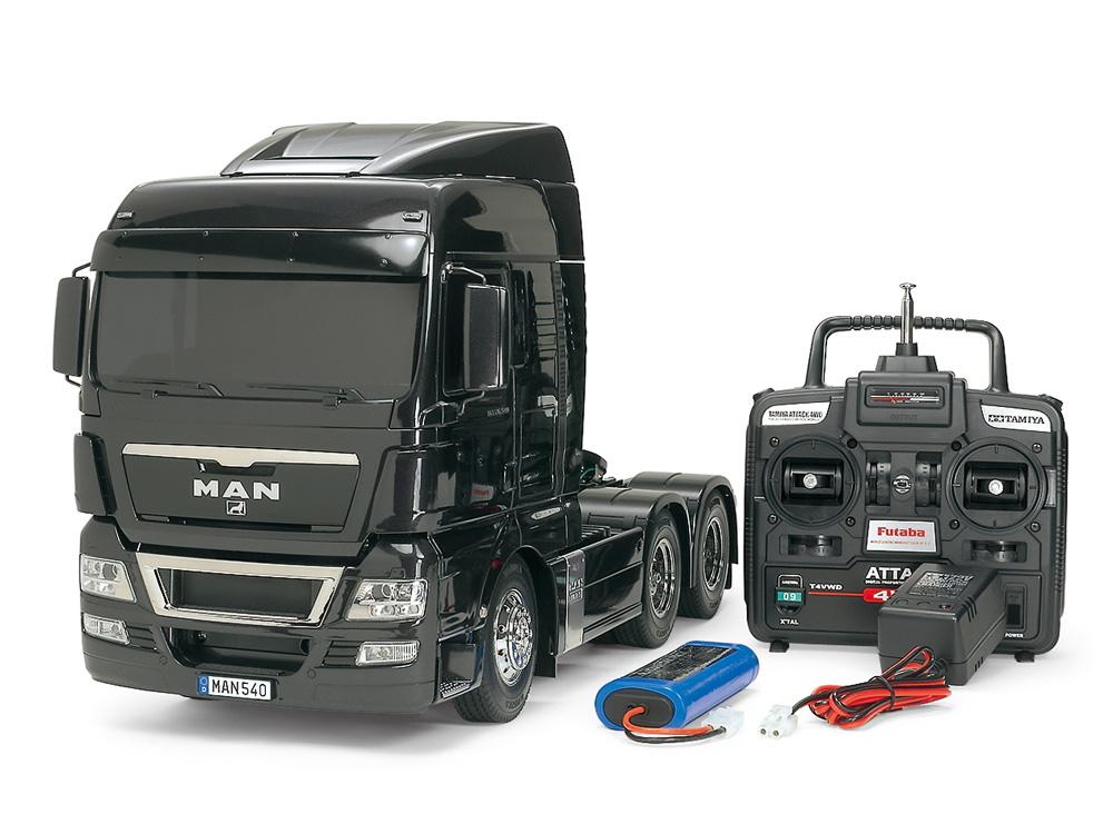 タミヤ RCTR 1/14 電動RCビッグトラック No.56324 MAN TGX 26. 540 6×4 XLX フルオペレーションセット