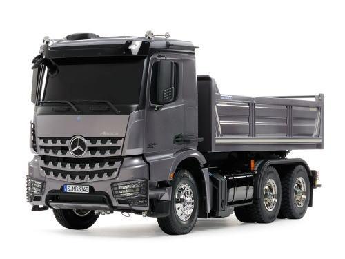 タミヤ RCTR 1/14 電動RCビッグトラック No.56357 メルセデス・ベンツ アロクス 3348 6x4 ダンプトラック