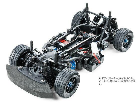 タミヤ 1/10 電動RCカー No.58647 M-07 CONCEPT シャーシキット