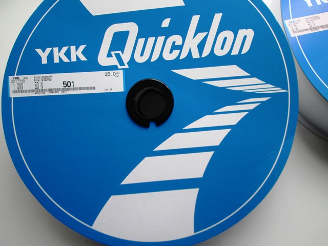 YKKクイックロン 50mm 25mセット 縫い付けタイプ宅配便のみ発送