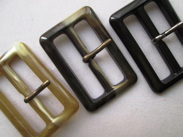 コート用バックルです バックル ピン付き R-7914 与え 40mm 公式サイト ベルトの幅がバックルの幅です 1個