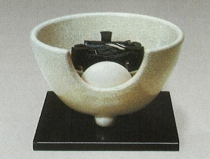【送料無料※一部地域を除く】【茶道具】F412 白さつま(紅鉢型)