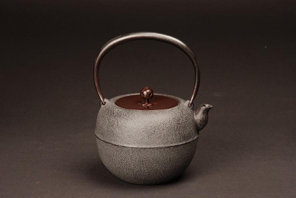 【送料無料】【茶道・茶道具】【表千家・裏千家】鉄瓶 鉄鉢