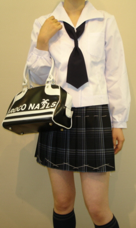 SN30変形白衿長袖ブラウス Bigサイズ