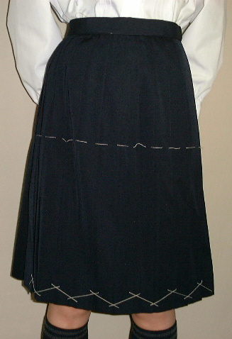 PS01紺サマースカート