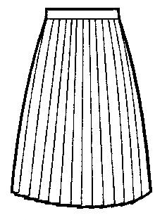 学生冬プリーツスカート20車ヒダ