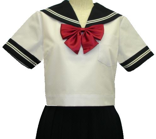SH66話題の半袖セーラー服