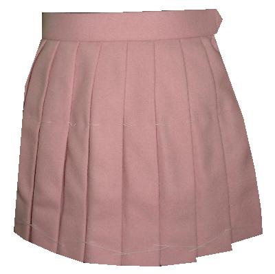 PS543bigピンクスクールスカートビッグサイズ