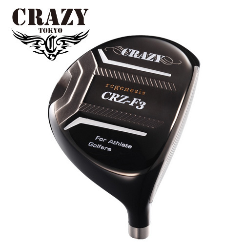 CRAZY CRZ-FW クレイジー 注文後の変更キャンセル返品 3W ヘッドカバー付 5W ヘッドのみ ヘッド単体不可 海外限定