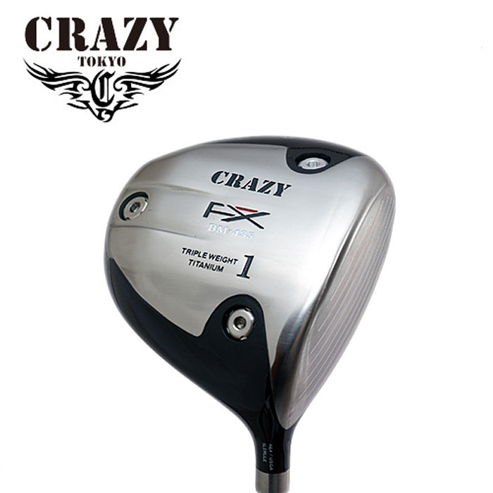 クレイジー シングルB オリジナルヘッド CRZ-435 ヘッドのみ ヘッドカバー付 ヘッド単体不可