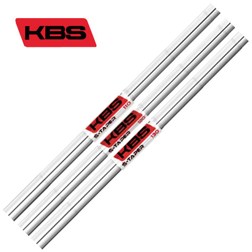 KBSシャフト KBS TOUR S-Taper #5-PW 6本セット リシャフト時工賃別途必要