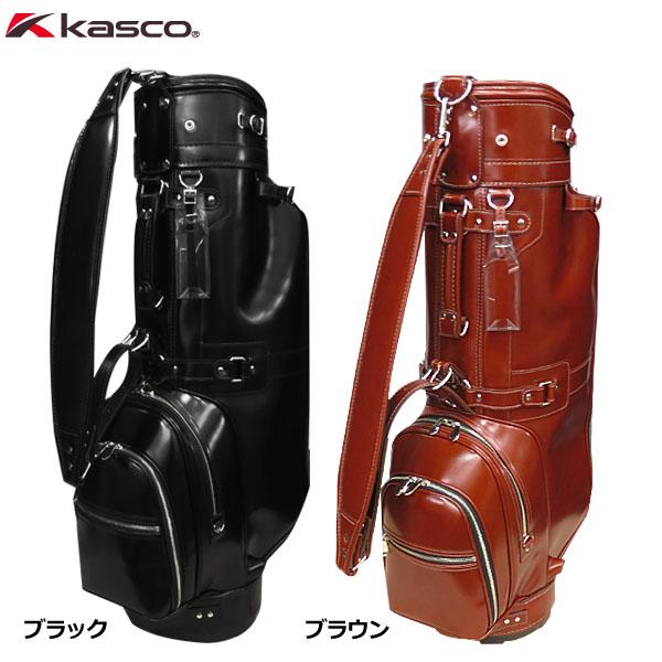 キャスコ 本革キャディバッグ KS-096 8.5型 ゴルフバッグ