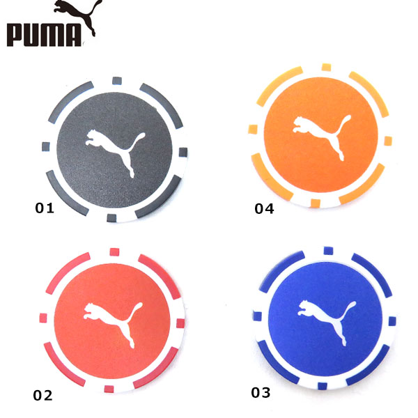 PUMA GOLF CASION Marker 867904 カジノマーカー プーマ おトク メール便対応可 ゴルフ 半額 260円