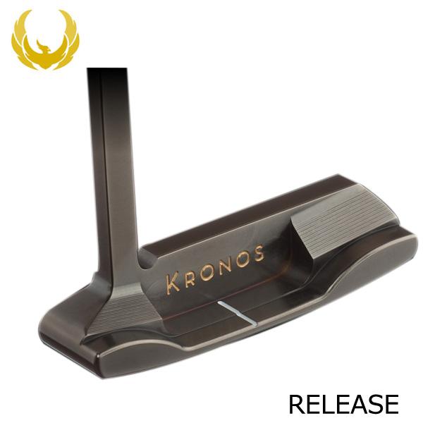 KRONOS GOLF RELESE クロノス ショップ リリース ロングネック 高級な ゴルフパター