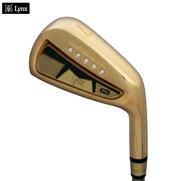 リンクスゴルフ プレミアムゴールド マスターモデル アイアン #4-9 P 7本セット SR