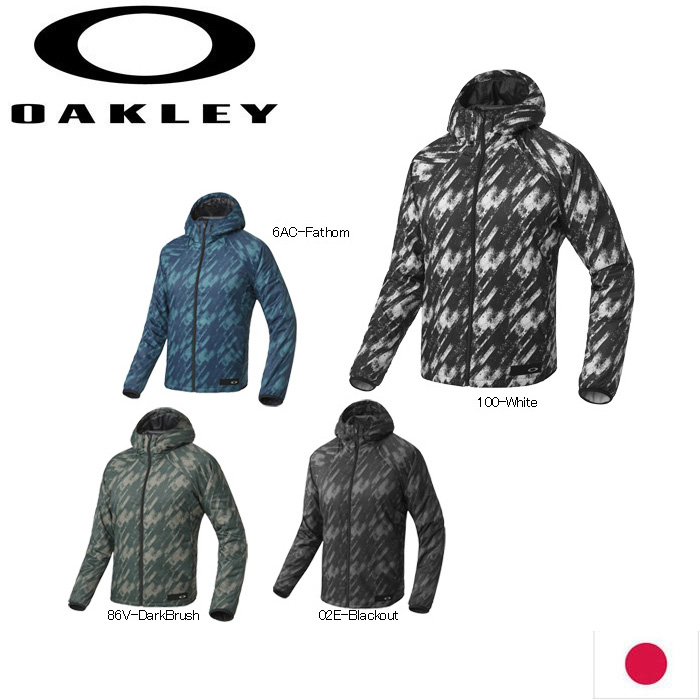 OAKLEY 412474JP ENHANCE GRAPHIC INSULATION JACKET 7.3 日本仕様 オークリー メンズアウター