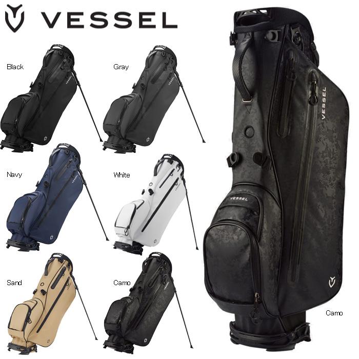 VESSEL 7530218 LITE STAND BAG ベゼル ライト スタンドバッグ キャディバッグ 日本正規品