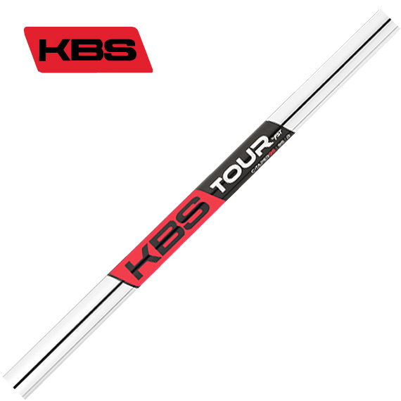 KBS TOUR C-TAPER 95 アイアン用シャフト by FST Inc 5-PW/6本セット