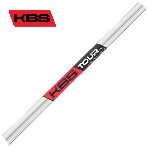 KBS TOUR C-TAPER アイアン用シャフト by FST Inc 5-PW/6本セット