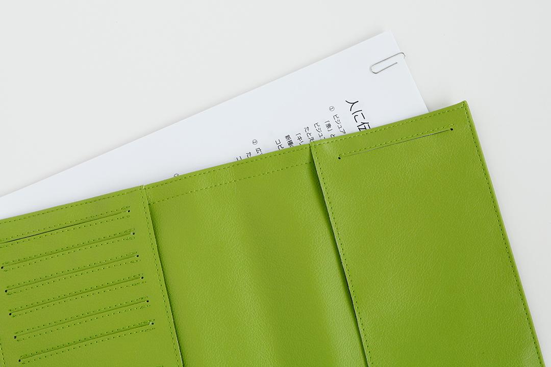 대신 국산 PVC 가죽 수첩 커버 (A5 용)