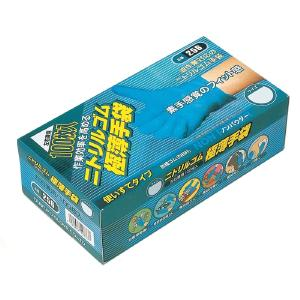 食適 おたふく手袋 豊富な品 4970687198337 ニトリル 極薄手袋 卓越 Lサイズ 100枚入