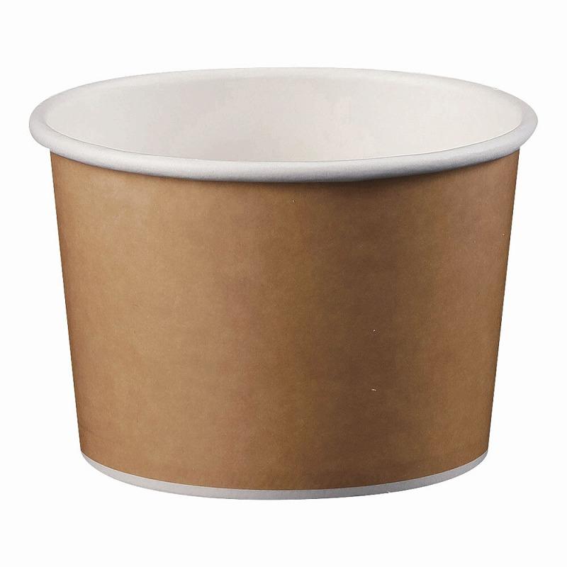 アイス 爆安プライス スープカップ8オンス 50個入 TKG 代引き不可 クラフト 茶 GUN-04 食品容器 業務用 使い捨て テイクアウト 公式サイト 7-0924-0103 汁物 店舗用 デリバリー