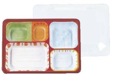 使い捨て 柄 色付きお弁当容器 50セット TKG 業務用 お弁当容器 お弁当箱 テイクアウト 透明 TSR-70-55? RTK-66 夢彩ごぜん 7-1467-0601 柄付 オンライン限定商品 新作入荷 ランチボックス