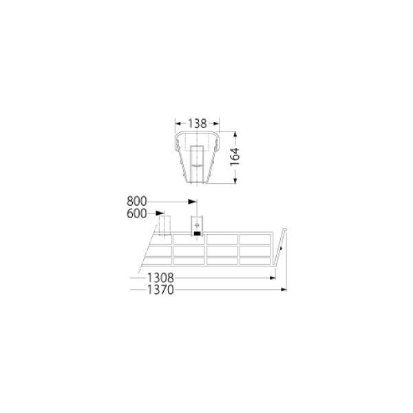 【本日特価】 【ポイント2倍】 岩崎電気【ポイント2倍】 PF41504 PF41504 ガード LEDベースライト(40Wタイプ)用(ステンレス製), シチガハママチ:aec1c1d6 --- technosteel-eg.com