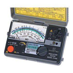 共立電気計器 MODEL3146A絶縁抵抗計 50V/125V 『3146A共立』  KYORITSU
