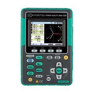 共立電気計器 KEW6315-01 セットモデル 電力計 電源品質アナライザ 8125 (500A) x 3 付属 『631501共立』代引き不可  KYORITSU