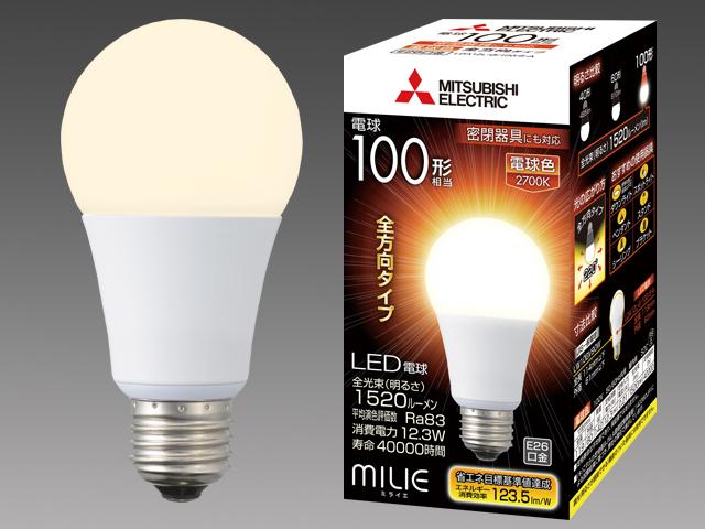条件付き送料無料 お得なキャンペーンを実施中 10個1箱セット販売です 一般電球100W相当の明るさ LDA15L-G 100 Sの後続機種 三菱電機 10個入 現金特価 全方向タイプ LEDランプ LDA12L-G LDA12LG100SA 口金E26 一般電球100形 S-A 電球色