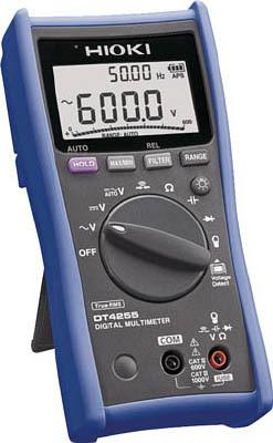 日置電機 HIOKI DT4255デジタルマルチメータ 電圧測定端子にヒューズ付タイプ 『DT4255日置』 『4255日置』