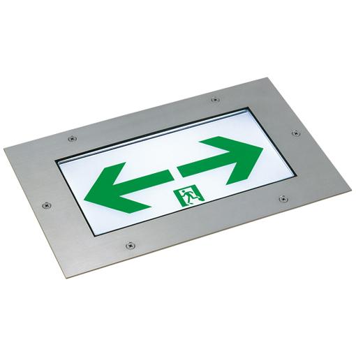 岩崎電気 EMSLR100C LED誘導灯 一般形床埋込形 C級片面形  (表示板別売) (受注生産品)