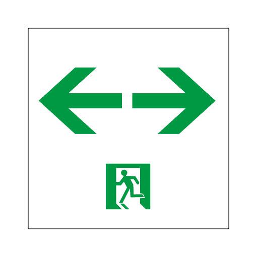 岩崎電気 EFK20068 通路誘導灯用表示板 B級BL形・BH形