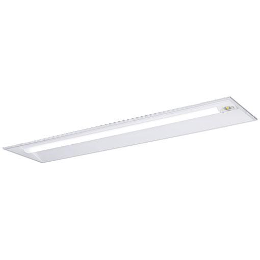 岩崎電気 ELBE42503NPN9 LEDベースライト非常用照明 (LEDユニット一体形) 40W形埋込形 (300mm幅) Hf32形定格出力形相当 タイプ 非常時FHF32 白色蛍光灯25%点灯