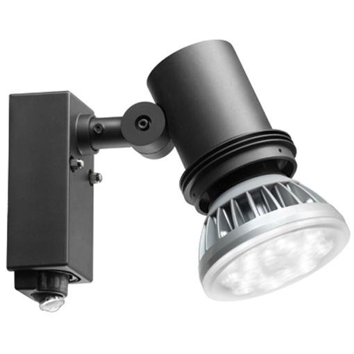 岩崎電気 ESP14003/BK (ESP14003BK) 屋外スポットライト> 屋外スポットライト センサ付(ランプ別売)