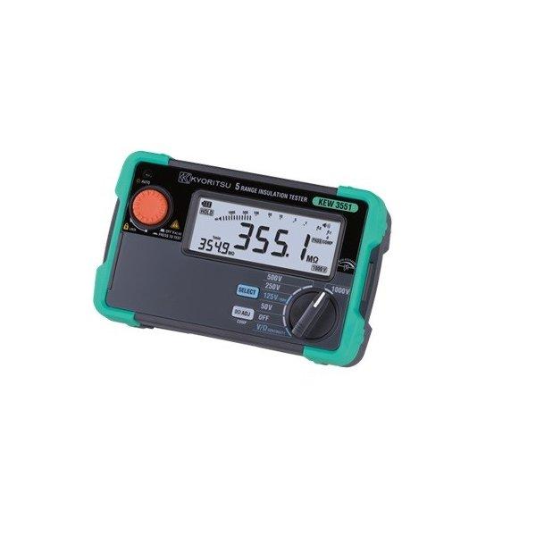 共立電気計器 KEW3551 デジタル絶縁抵抗計 50/100/125/250/500/1000V 『3551共立』『KYORITSU』