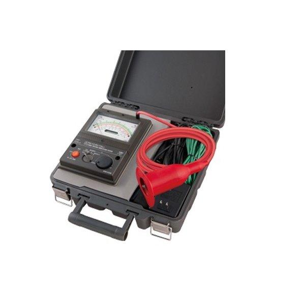 共立電気計器 KEW3124A アナログ高圧絶縁抵抗計 測定電圧可変式 1KV~10KV 『3124A共立』『KYORITSU』